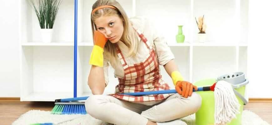 Как быстро убрать квартиру